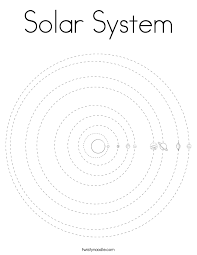Small Picture Solar System Coloring Page Twisty Noodle