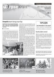 Erpse Krant 2017 Editie 08 By Erpse Krant Issuu