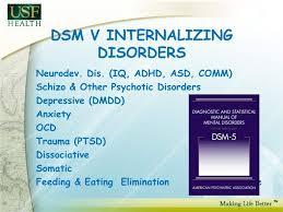 dsm v internalizing disorders