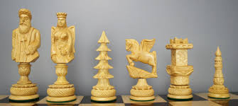 Chess sets from The Chess Piece chess set store: Santa Claus ...