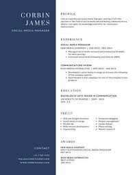 Customize 192 Corporate Resume Templates Online Canva