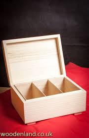 Plain Wooden Boxes To Decorate Details about UNPAINTED NEW WOODEN STORAGE CHEST WITH 100 49