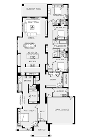Small Picture Best 25 Narrow house plans ideas that you will like on Pinterest