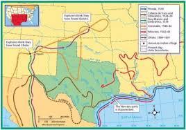 Early Explorers Chart Early Explorers Of Texas Sutori