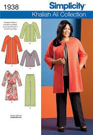 Plus Size Patterns Beauteous New Simplicity Plus Size Sewing Patterns Womens Size 48W 48W 48W 48W