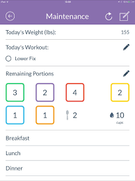 isagenix measurement tracker 21 day fix tracker official on the app store