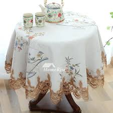 round fabric tablecloths fabric tablecloths inch round white blue purple polyester lace cotton tablecloths round fabric tablecloths