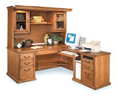 corner office desk hutch. corner l shaped office desk with hutch black and cherry how to hang an workstation s