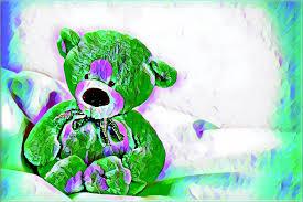 Draco's Teddy Image by Audrey Ledon