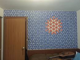 Wall Patterns With Tape Painting Walls With Painters Tape Designs Http Paint