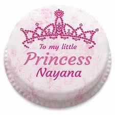 Little Princess Pink Birthday Cake Bakerdays