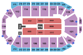 First Bank Center Seating Chart Wwe Wrestling Tickets