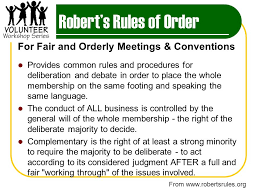 Robert S Rules Of Order Flow Chart Meetings That Work Effective Meeting Basics Ppt Video