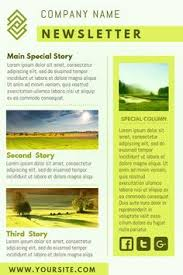 Examples Of Company Newsletters 23 Best Newsletter Samples Images Newsletter Sample