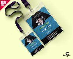 Identity Card Design Free Creative Identity Card Design Template Psd Uxfree Com