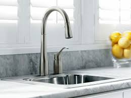 kohler kitchen faucets. KOHLER K 647 VS Simplice Pull Down Kitchen Sink Faucet Antique Regarding Faucets Plan 14 Kohler 1