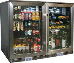outdoor fridge wine beer combo outdoor fridge