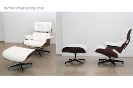 beautiful eames lounger chair with white color and white wall paint for modern furniture living room