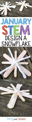 For this January winter themed STEM activity students design a symmetrical  snowflake. (winter STEM