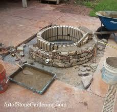 built concrete patio fire pit concrete patio with fire pit75 pit