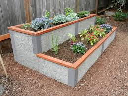 4 x8 rectangle tiered elevated garden
