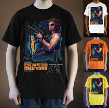 Escapce From Ny Ver 5 Kurt Russell T Shirt Black Orange White S 5xl Cool Sweatshirts Online Random Funny T Shirts From Liguo0057 12 79
