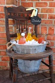 vintage chair drink stand furniture inspiration vintage chairs repurpose and diy ideas