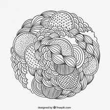 hand drawn patterned circle_23 2147504846 doodle vectors, photos and psd files free download on whatsapp chat template psd