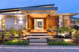 diseño de fachada casa moderna
