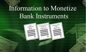 Monetization of Bank Instruments - Live Trading News
