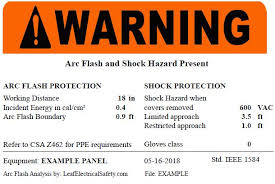 2018 Arc Flash Ppe Requirements Chart The Difference Between Arc Flash Working Distance And
