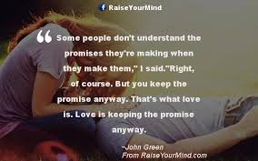 Some People Don't Understand The Promises They're Making When They Simple Love Quotes Love Anyway