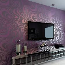 <b>Modern</b> Abstract Luxury <b>3D</b> Wallpaper Roll Mural Flocking Curve ...