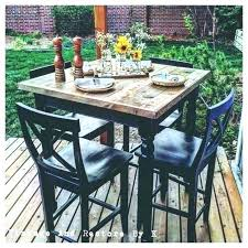 outdoor table and chairs. Outdoor Table And Chair Tall Bistro Chairs High Top Black Pub Patio S