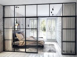 interior glass panel concrete finish studio apartments ideas inspiration interior glass panelled doors interior glass panel