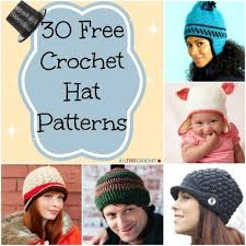 Free Crochet Hat Patterns For Women Gorgeous 48 Free Crochet Hat Patterns AllFreeCrochet