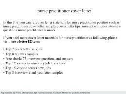 Nurse Practitioner Preceptor Cover Letter Emergency Room Nurse
