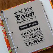 i want to make a recipe book someday here s some templates for the divider pages