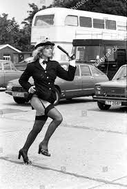 Mary Millington 1975 Redaktionelles Stockfoto – Stockbild