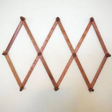 Wooden Pegs For Coat Rack Best Accordion Peg Rack Products on Wanelo 99
