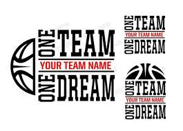 Basketball Team Quotes Custom Basketball Team SVG Team Motto Download Files Sports Quotes Etsy