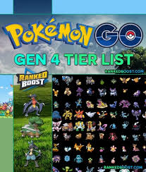 Pokemon Chart Gen 4 Pokemon Go Generation 4 Max Cp Chart Best Gen 4 Pokemon Top 10