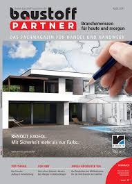 Baustoffpartner April 2017 By Sbm Verlag Gmbh Issuu