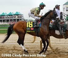 2009 Kentucky Derby Field