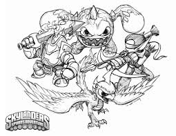Small Picture Skylanders Coloring Pages GetColoringPagescom