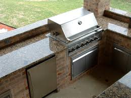 Porcelain Tile Outdoor Countertops Roselawnlutheran - Outdoor kitchen countertop ideas