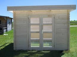 moderna 10 x 10 wood storage shed kit