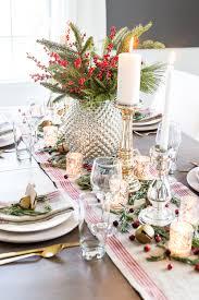 Mercury Glass Christmas Tablescape - Bless\u0027er House