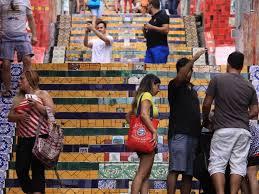 Bewegte geschichte der spanischen treppe. Rio De Janeiro Postkartenmotiv Mit Macken Mz De