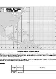 Hurricane Tracking Chart Hurricane Tracking Map And Lesson